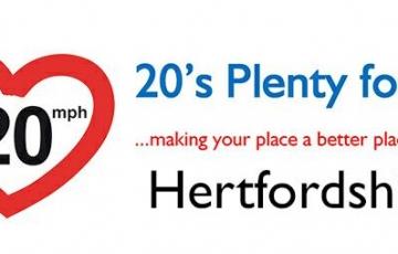 20s plenty for herts image